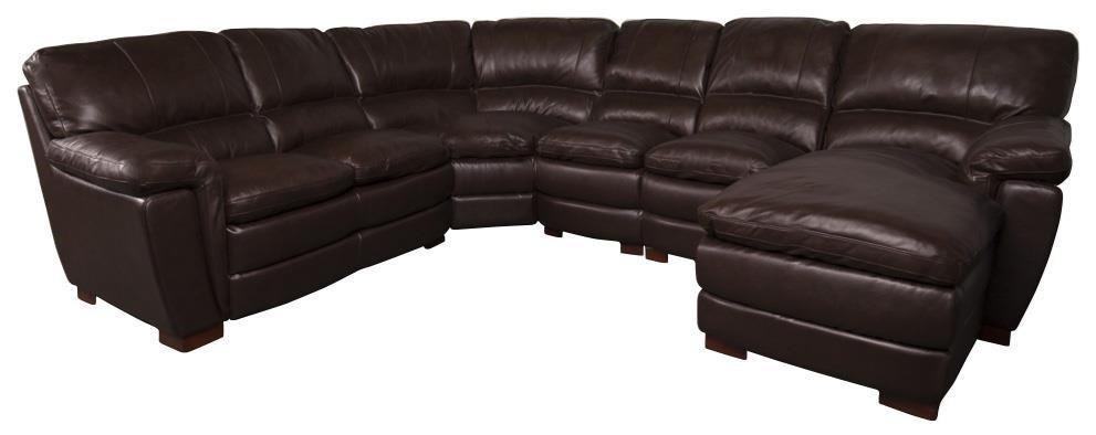 Merritt Leather Match Sectional Sofa