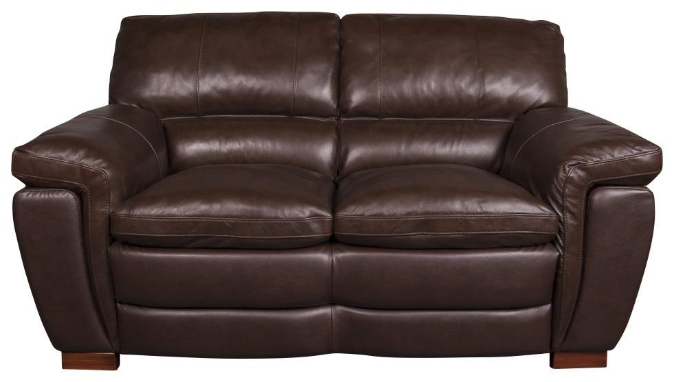 Merritt Leather Match Loveseat