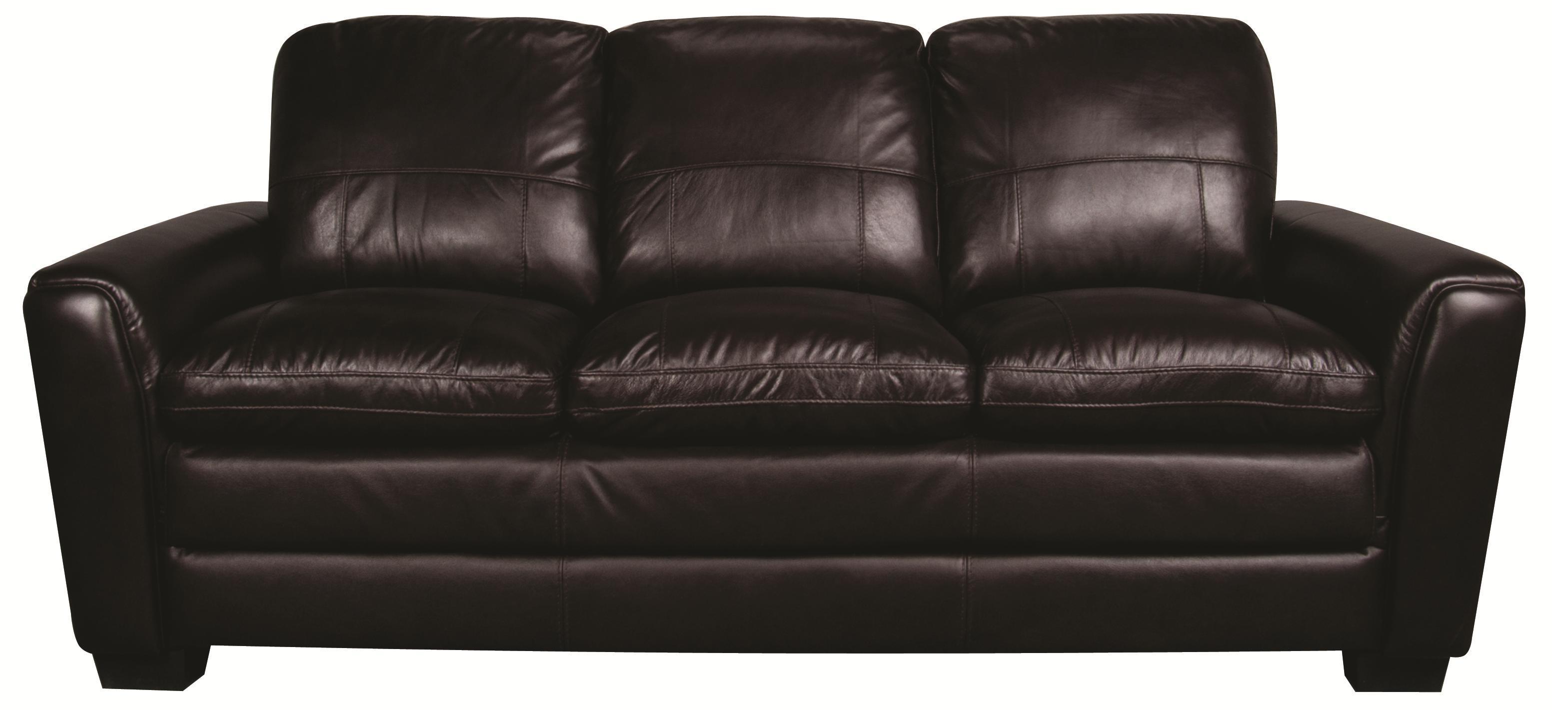 Morris Home Furnishings Rowan Rowan 100% Leather Sofa - Item Number: 103850017