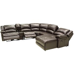 HTL T118 Reclining Sectional Sofa