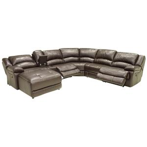 Theater Seating Sectional Sofa with Left Side Chaise  sc 1 st  Wilsonu0027s Furniture : htl sectional - Sectionals, Sofas & Couches