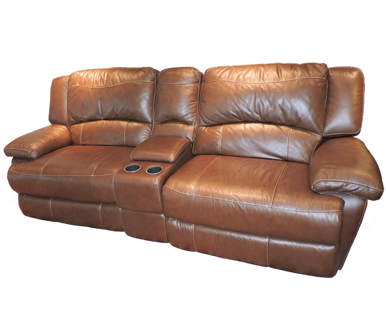 Belfort Select Grayson Love Seat Recliner - Item Number: T118CS-15ER1X+EL1X+STA