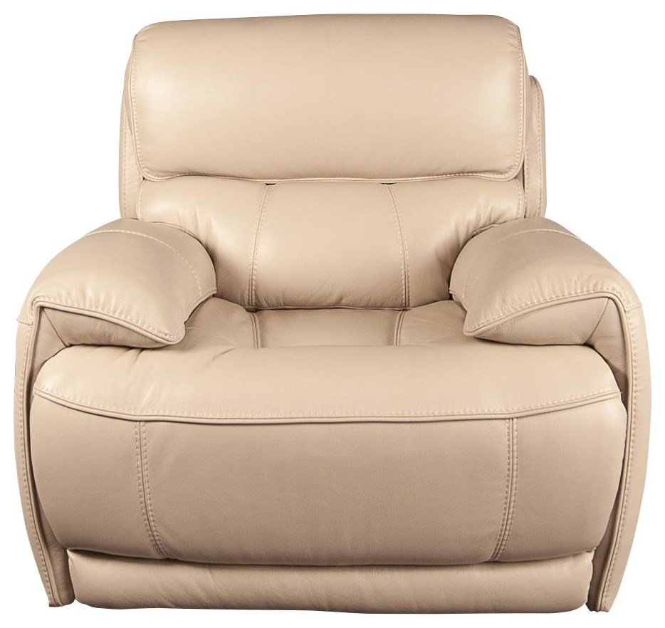 Wester Leather Match Recliner