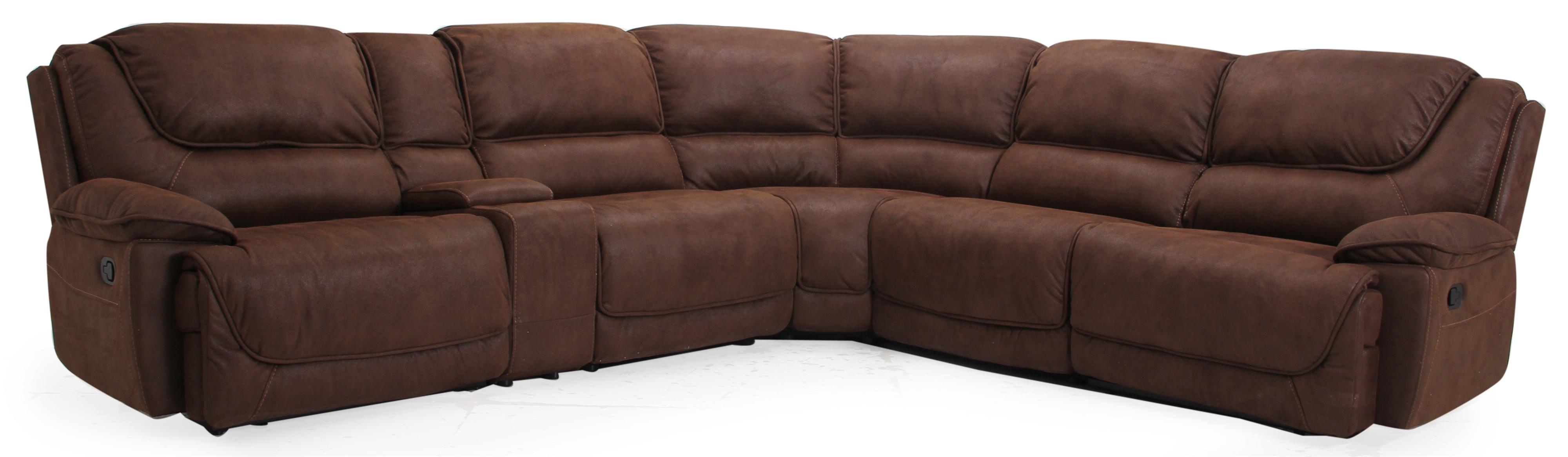 Htl X8913 Casual Reclining Sectional Fashion Furniture