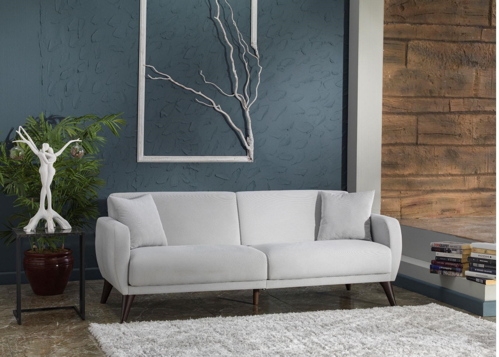 321629 Light Grey Sofa In A Box by Hudson at Stoney Creek Furniture