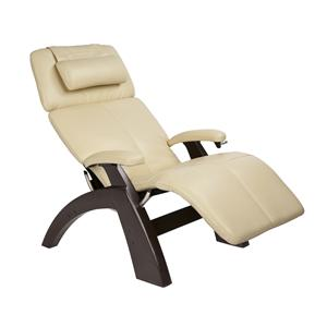 Human Touch Perfect Chair Recliners Classic Manual Zero Gravity Recliner  With Dark Walnut Base