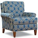 Huntington House 2031 Transitional Chair with Tapered Feet