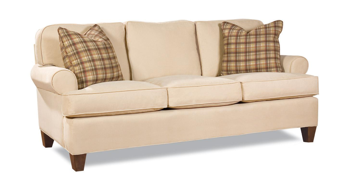 Huntington House 2041 3-Seater Stationary Sofa - Item Number: 2041-20