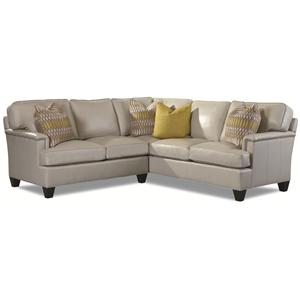 2041 Customizable 4-Seater Sectional by Huntington House