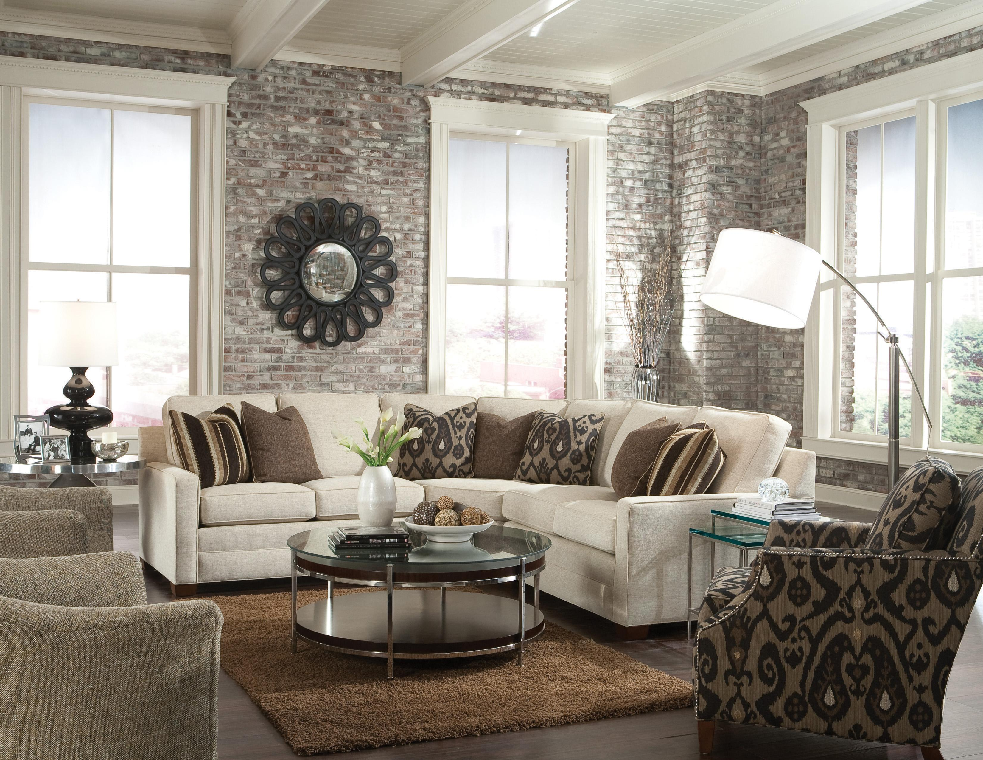 Huntington House 2062 Customizable Contemporary Sectional