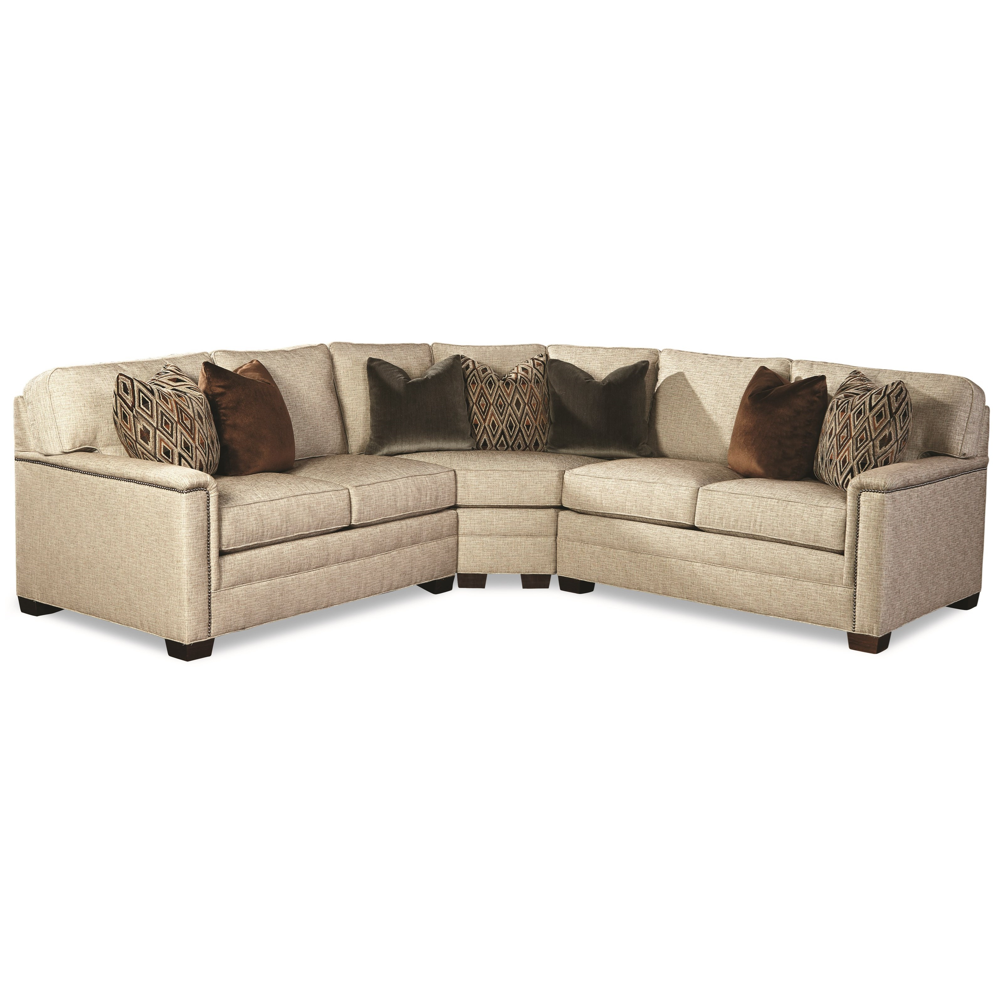 2062 Customizable Sectional Sofa by Huntington House at Baer's Furniture
