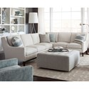 Huntington House 2200 Sectional Sofa - Item Number: 2200-25+42