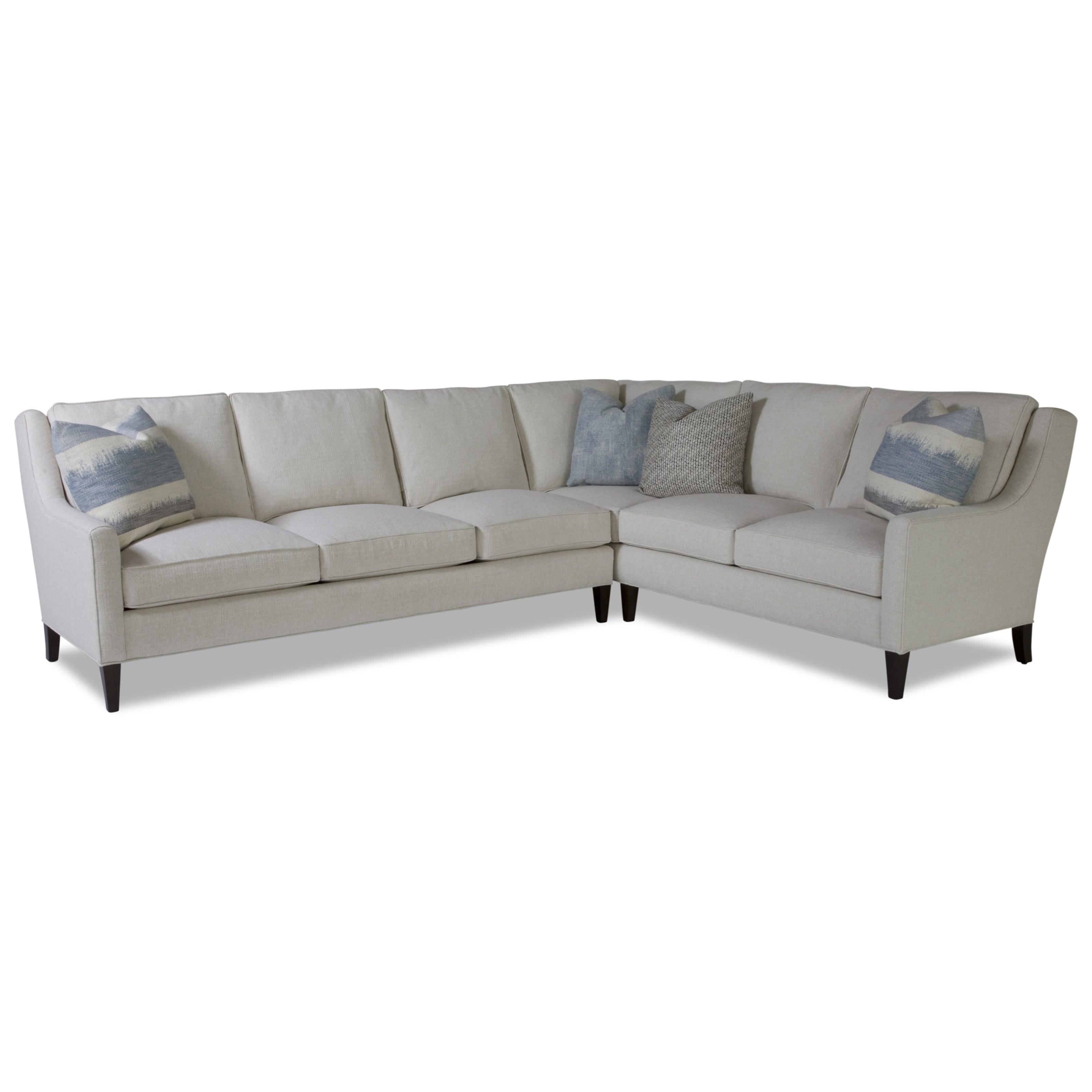 Awe Inspiring Huntington House Laguna Contemporary Sectional Sofa With Pabps2019 Chair Design Images Pabps2019Com