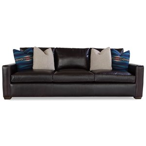 Huntington House Plush Mod Sofa w/ Track Arms