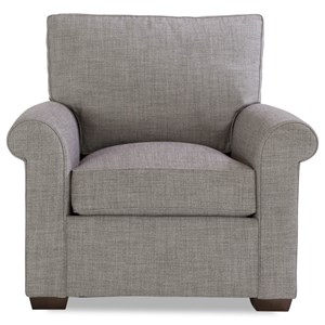 Huntington House Plush Chair w/ Rolled Arms