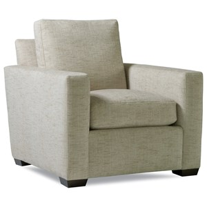 Huntington House Plush Mod Chair w/ Track Arms