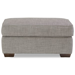 Huntington House Plush Mod Ottoman