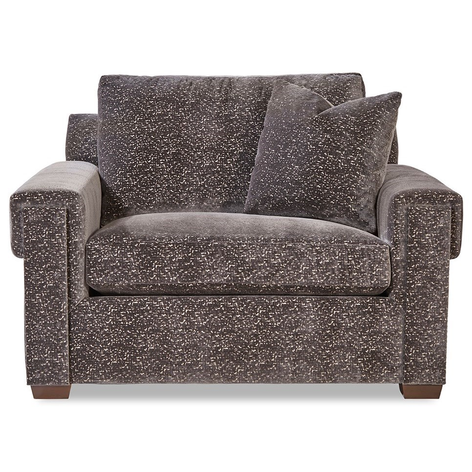 Plush Chair and a Half by Huntington House at Belfort Furniture