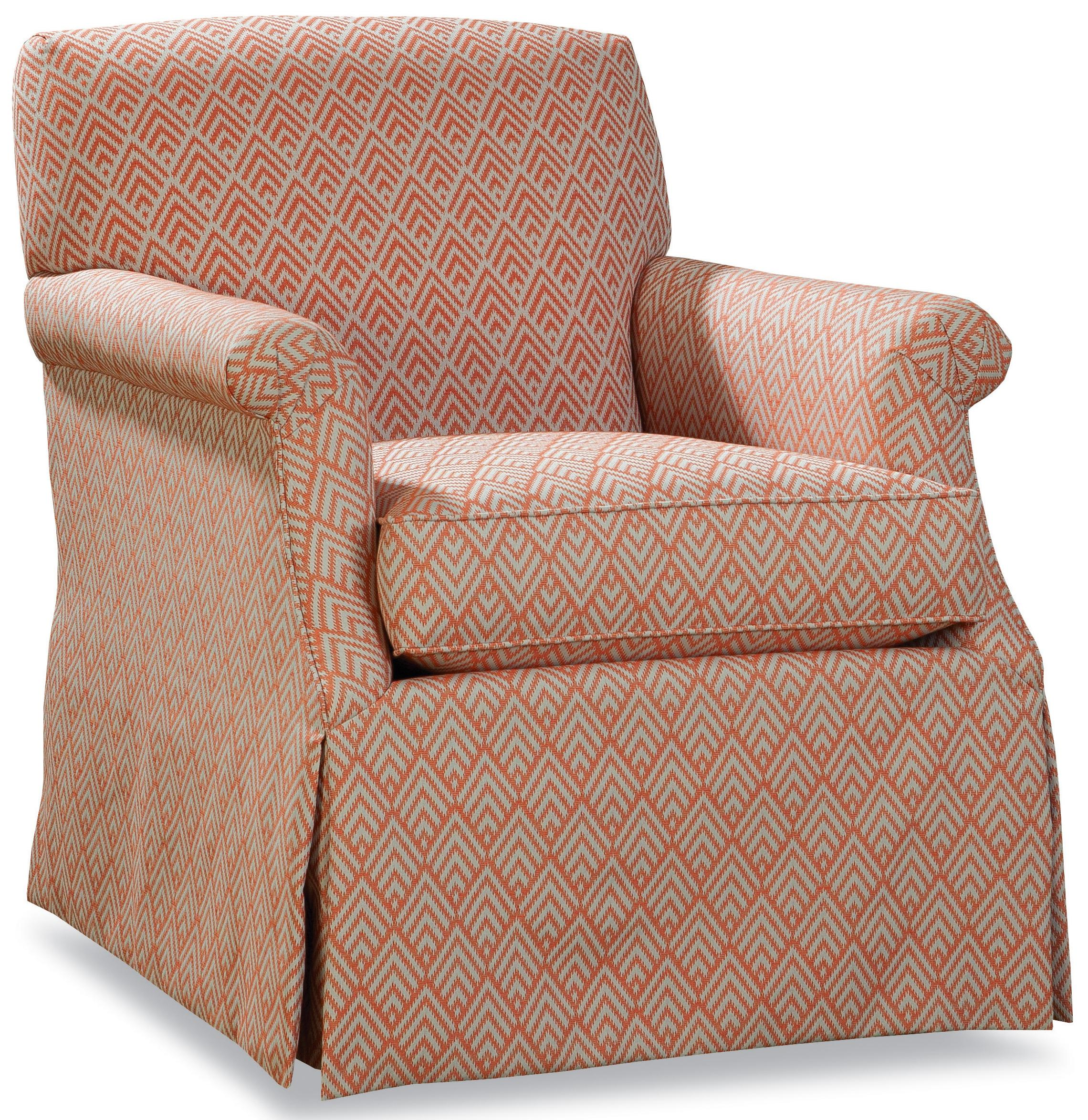 Huntington House 3372 Swivel Glider Chair - Item Number: 3372-58