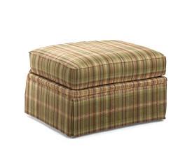 Huntington House 3698  Upholstered Ottoman - Item Number: 3698-50OTT