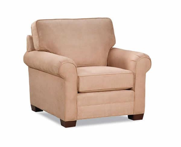 2053 Transitional Chair by Huntington House at Belfort Furniture