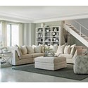 Huntington House 7100 Godfrey 5 Pc Sectional Sofa - Item Number: 3X7100-31+2X51