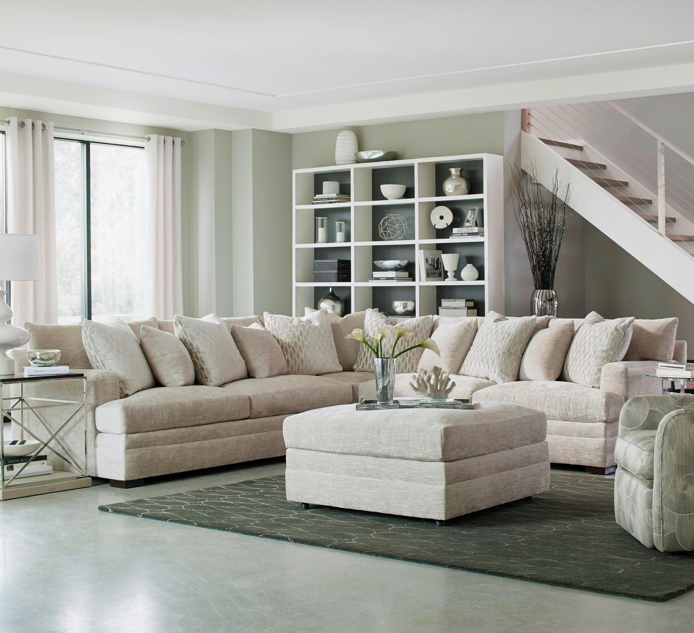 7100 Sectional by Geoffrey Alexander at Sprintz Furniture