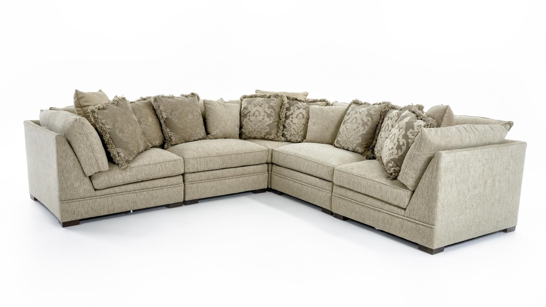 5 Piece Corner Sectional Sofa