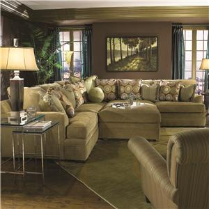 Huntington House 7100 Sectional Sofa
