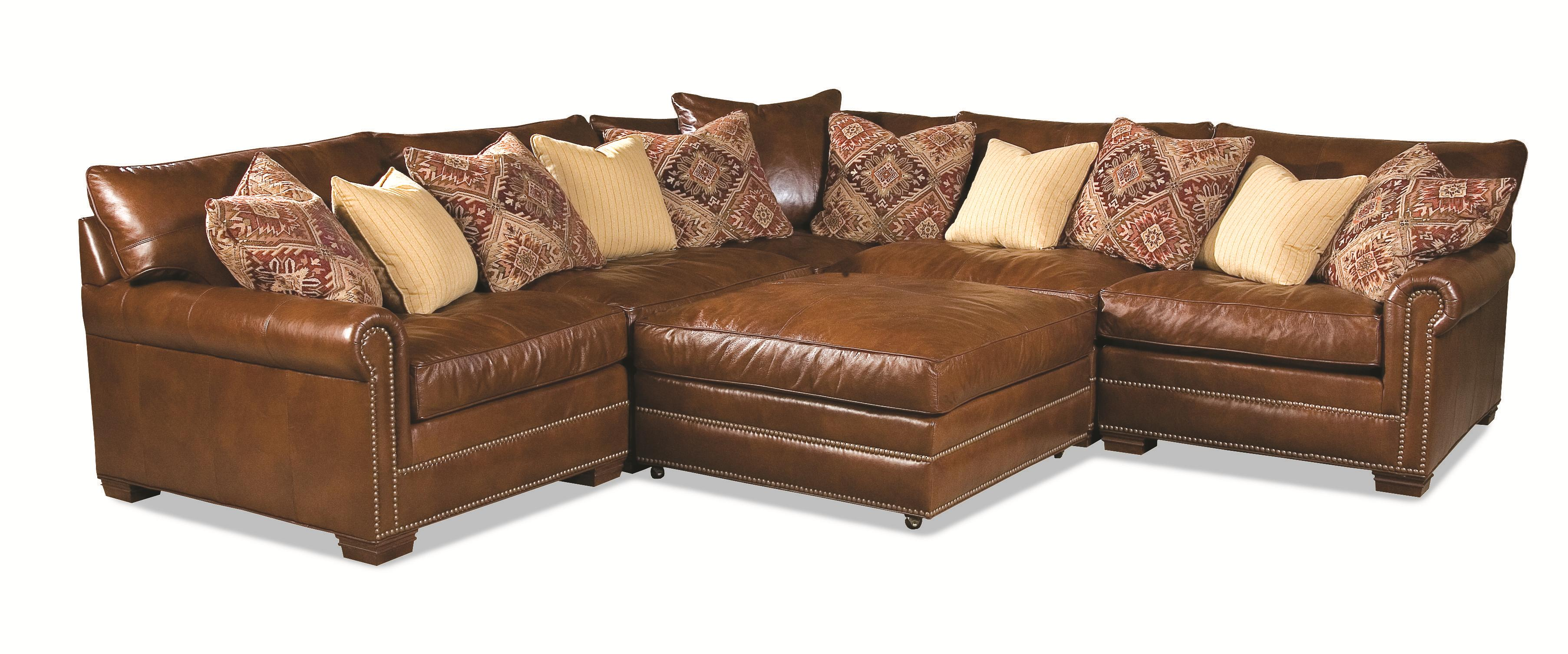 Huntington House 7107 Sectional - Item Number: 7107-53+2x51+31+52+55