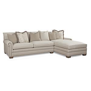 Huntington House 7107 LAF Sofa Chaise