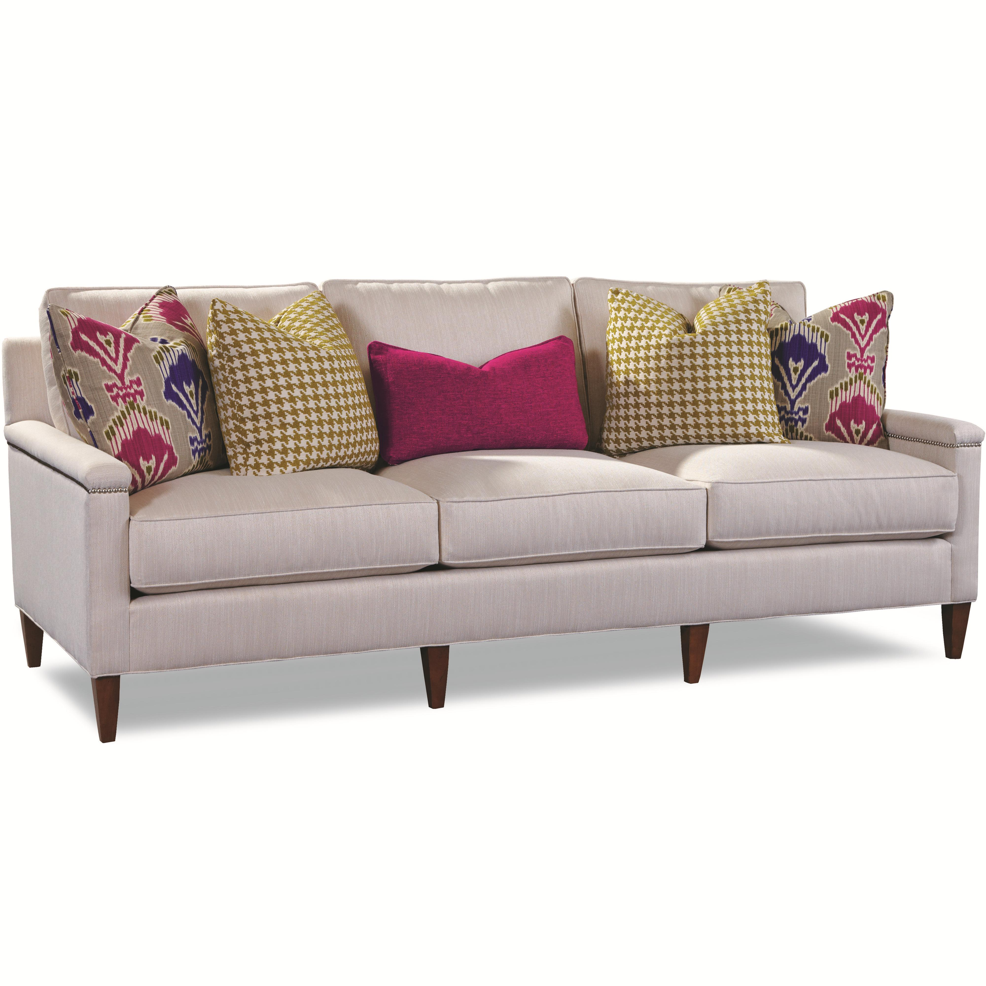 7216 Contemporary Sofa by Huntington House at Belfort Furniture
