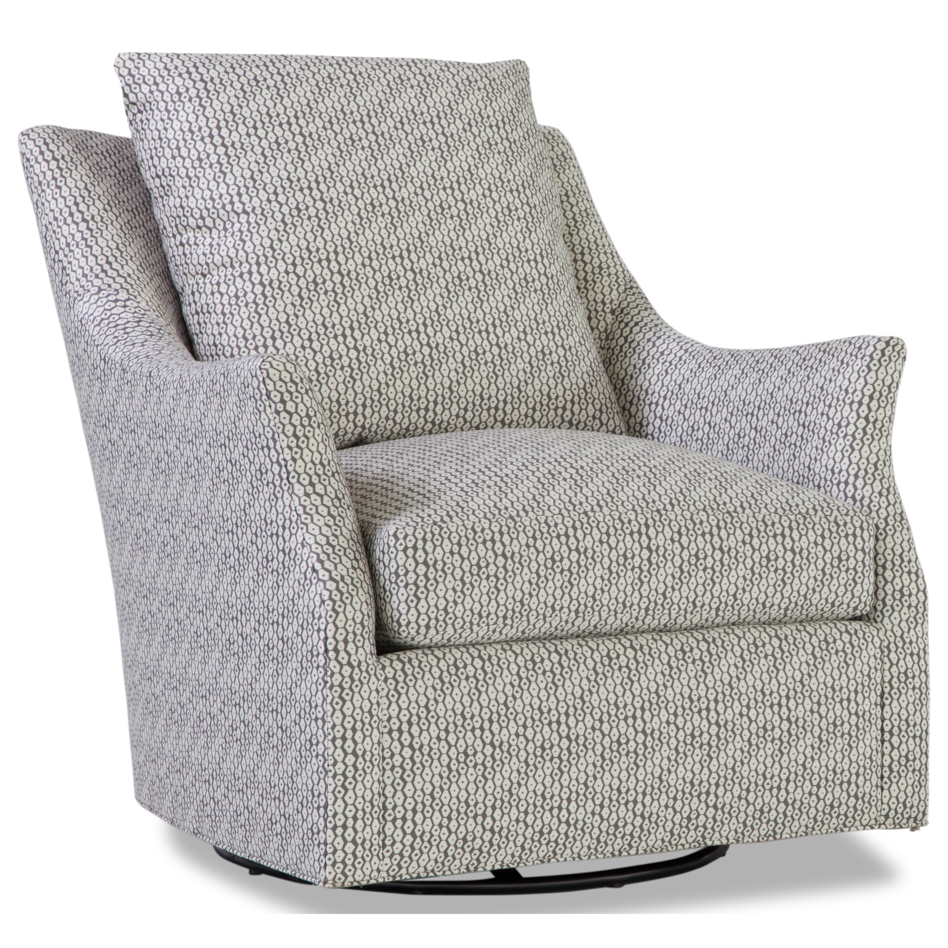 Huntington House 7270 Contemporary Swivel Glider Chair