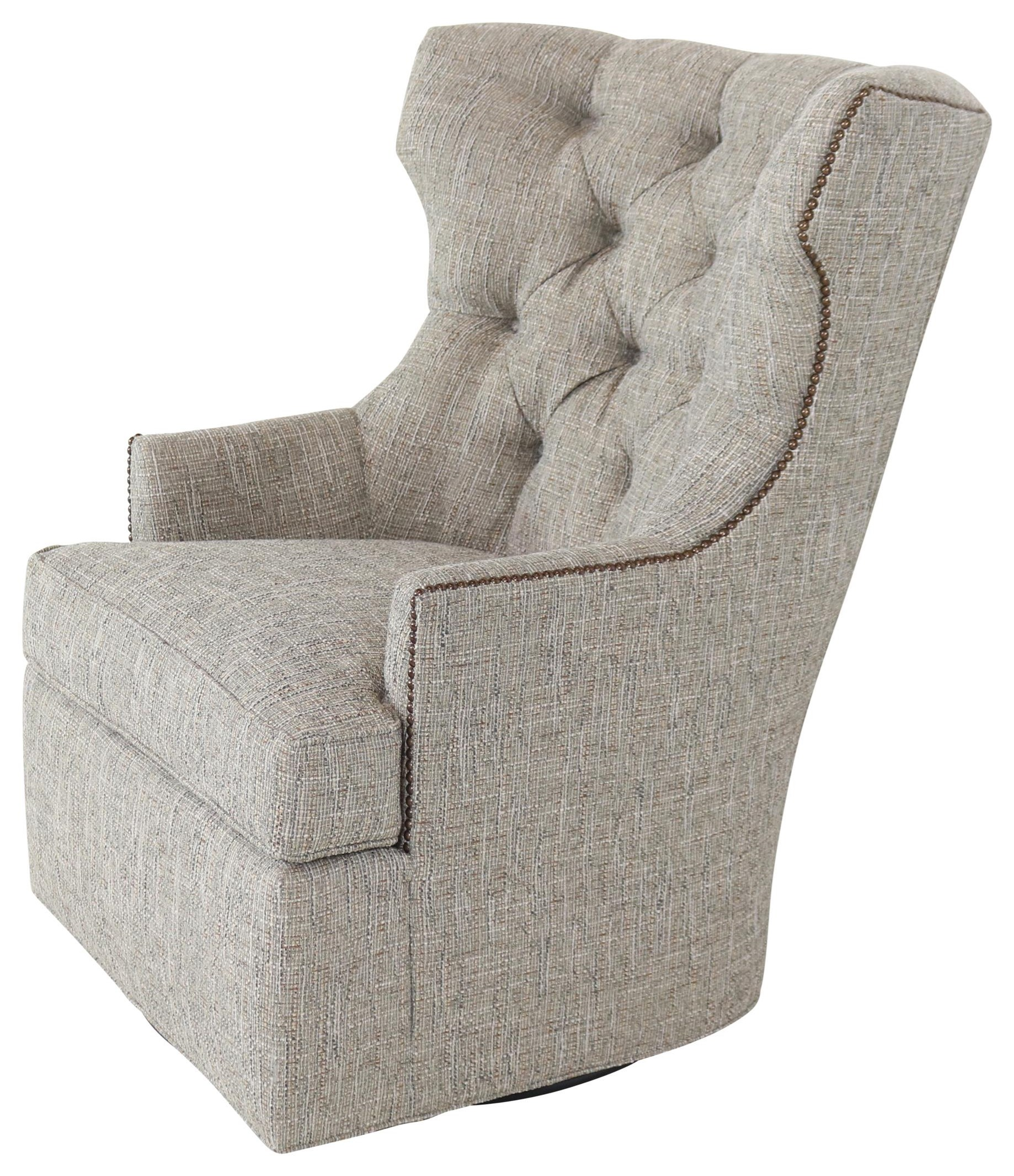 7413 Swivel Chair by Geoffrey Alexander at Sprintz Furniture