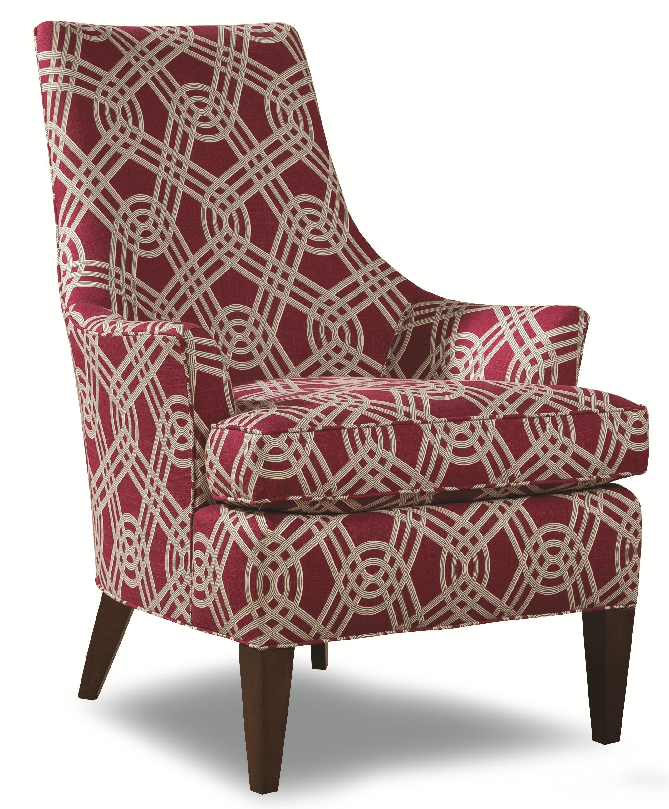 Geoffrey Alexander 7471 Contemporary Accent Chair With
