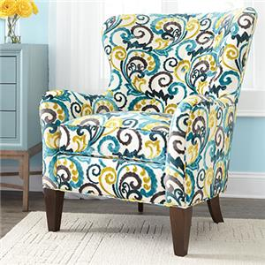 Huntington House 7475 Wingback Accent Chair