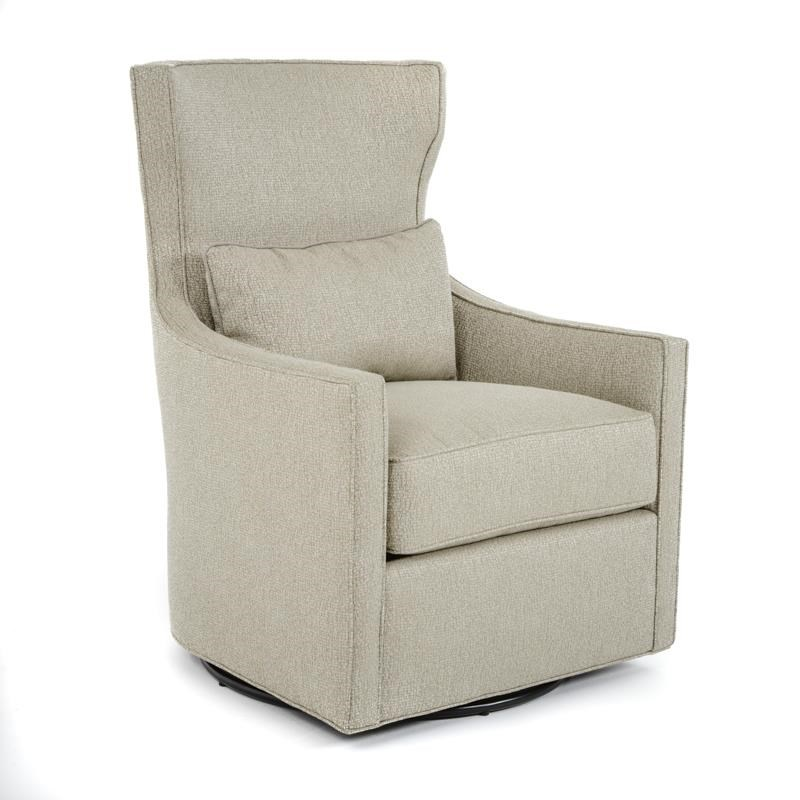 Huntington House 7720 Collection Swivel Chair - Item Number: 7720-56 WO Nails