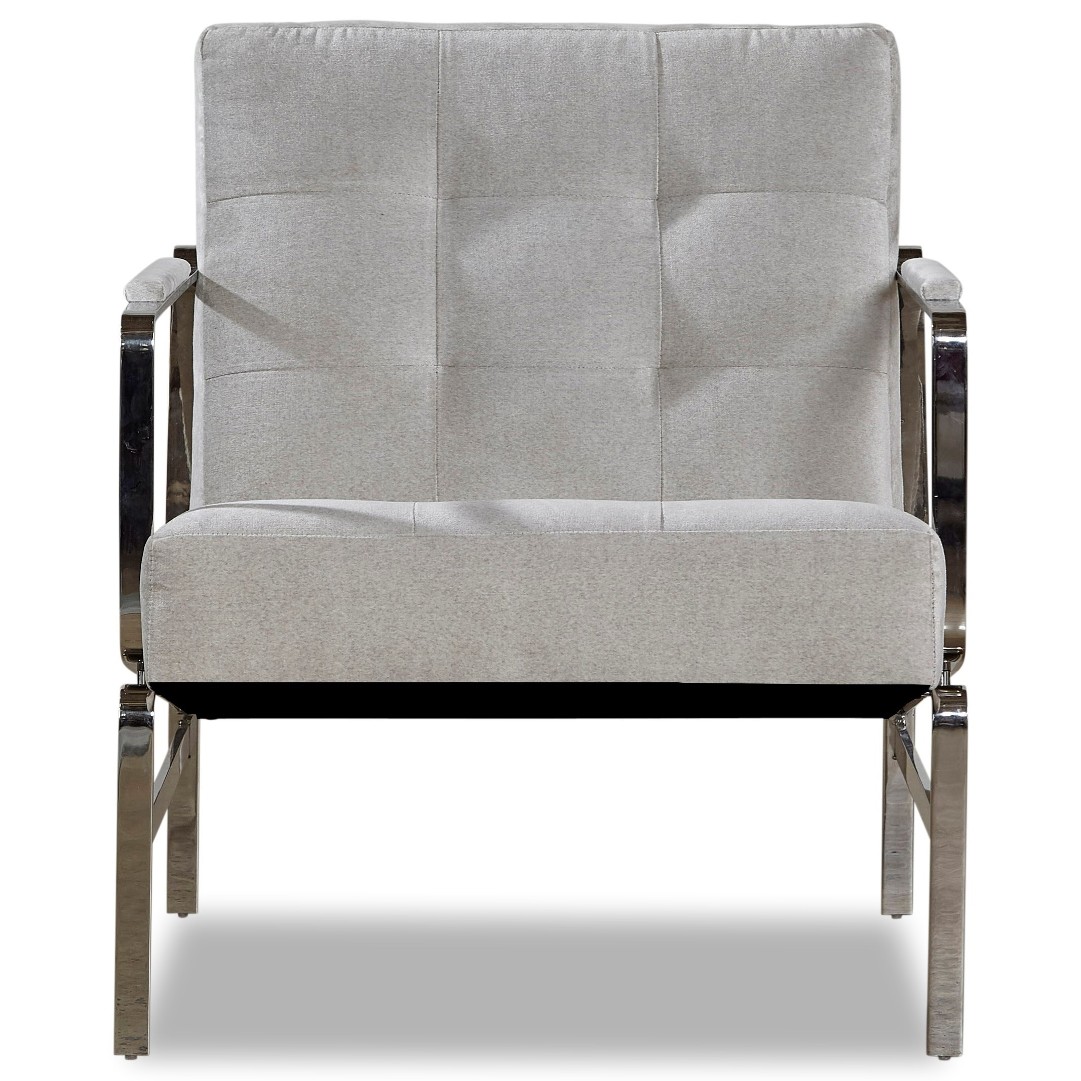 Metal Accent Chair