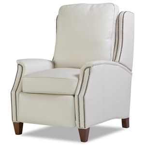 8119 Transitional Power Recliner with Nailhead Trim by Huntington House