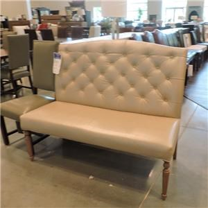 American Made Armless Settee
