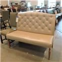 Huntington House clearance American Made Armless Settee - Item Number: 240341288