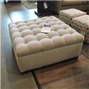 Huntington House clearance Cocktail Ottoman w/ Tufted Top - Item Number: 465604895