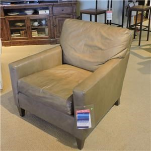 Modern Chair w/ Track Arm