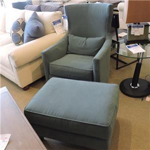 Swivel Chair & Ottoman