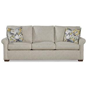 "89"" Sock Rolled Arm Sofa"