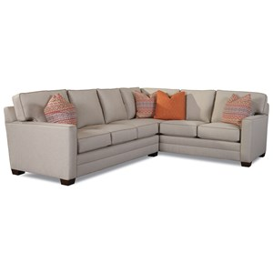 Huntington House Solutions 2053 Customizable Sectional Sofa