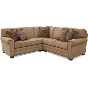 Huntington House Solutions 2053 Sectional Sofa