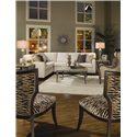 Huntington House Solutions 2053 Customizable Sectional - 2053-43+2053-31+2053-22