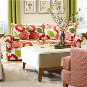 Solutions 2053 Customizable Two Cushion Sofa by Huntington House