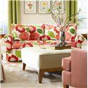 Huntington House Solutions 2053 Customizable Two Cushion Sofa - 2053-70